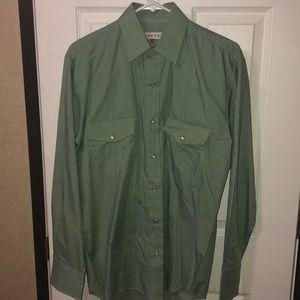 Roper pearl snap. Worn once